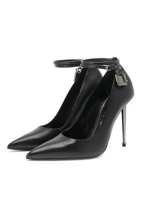 Кожаные туфли Padlock  | Фото №1