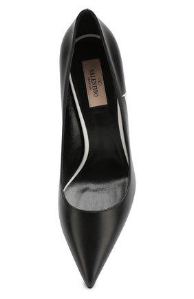 Кожаные туфли Valentino Garavani VLTN | Фото №5