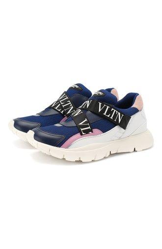 Комбинированные кроссовки Valentino Garavani Heroes Her