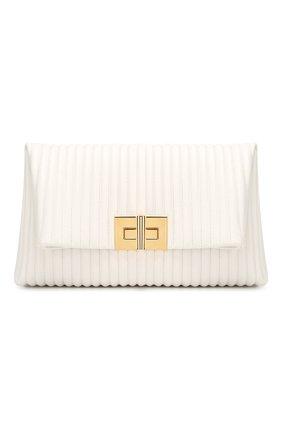 Клатч Natalia Soft Tom Ford белого цвета | Фото №1