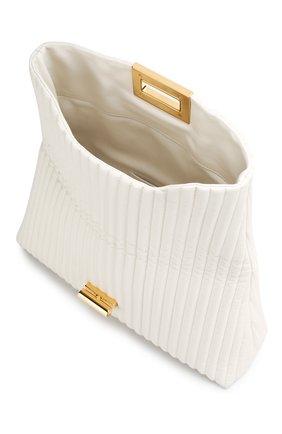 Клатч Natalia Soft Tom Ford белого цвета | Фото №4