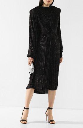 Платье-миди с принтом | Фото №2