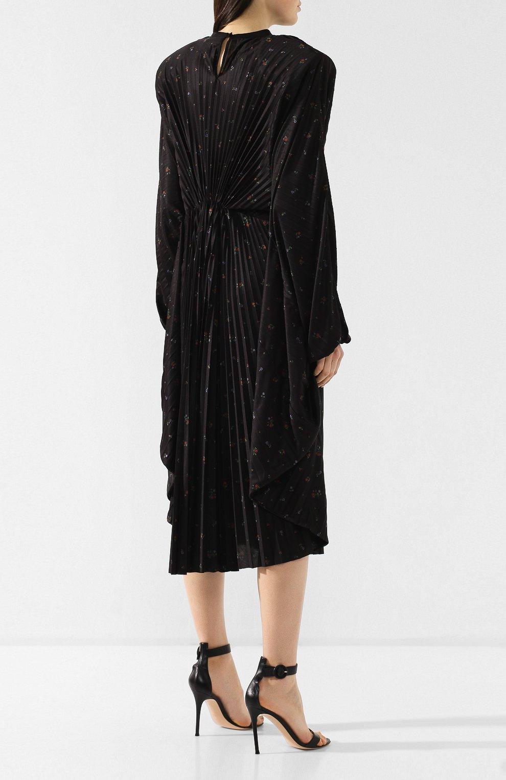 Платье-миди с принтом | Фото №4