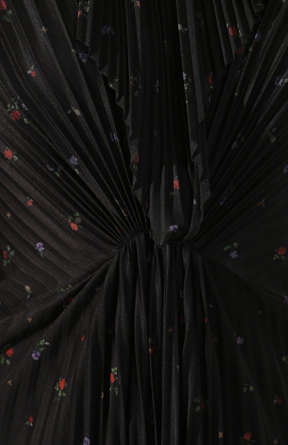 Платье-миди с принтом | Фото №5