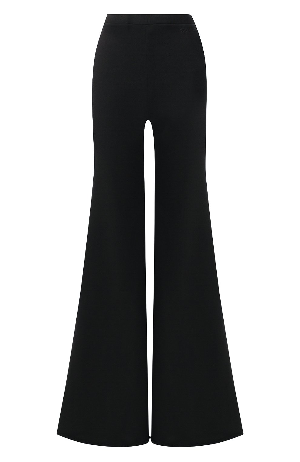 Расклешенные брюки из хлопка | Фото №1