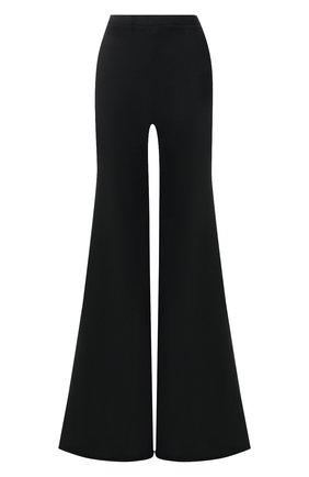 Расклешенные брюки из хлопка Vetements черные | Фото №1