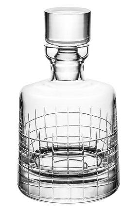 Набор из штофа и 2-х стаканов для виски с подставками Graphik | Фото №2