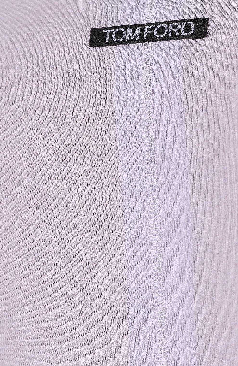 Хлопковый лонгслив | Фото №5
