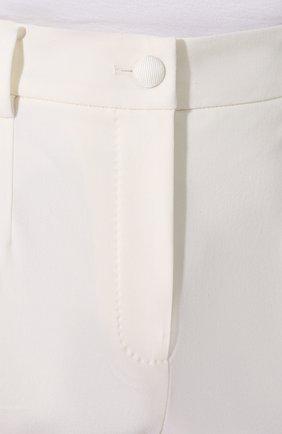 Шерстяные брюки Dolce & Gabbana белые   Фото №5