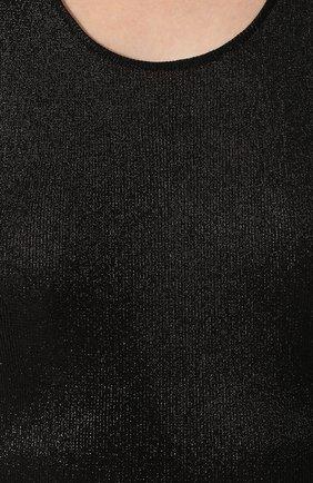 Топ из вискозы Tom Ford черный | Фото №5