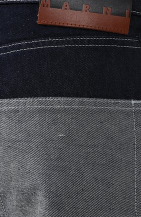 Укороченные джинсы Marni синие   Фото №5