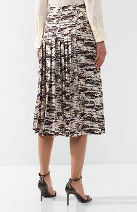 Шелковая юбка с принтом | Фото №4