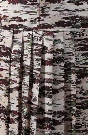 Шелковая юбка с принтом | Фото №5