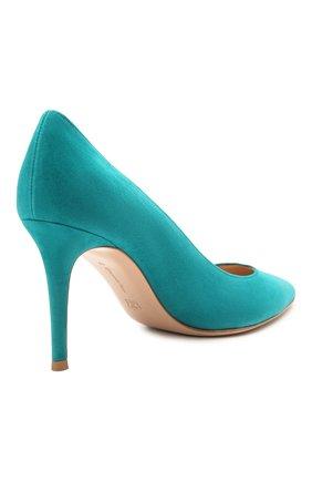 Замшевые туфли Gianvito 85 | Фото №4
