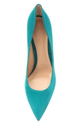 Замшевые туфли Gianvito 85 | Фото №5