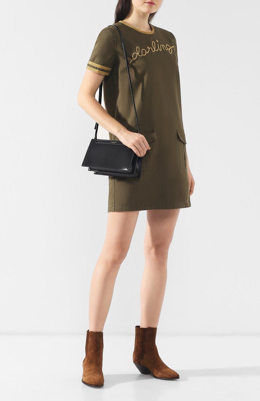 Сумка Catherine Saint Laurent черная цвета | Фото №2
