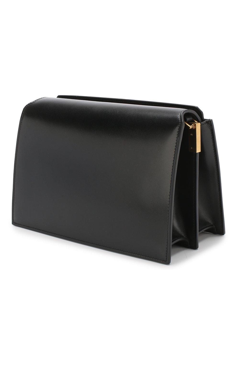 Сумка Catherine Saint Laurent черная цвета | Фото №3