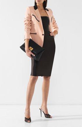 Клатч Natalia Soft Tom Ford черного цвета | Фото №2