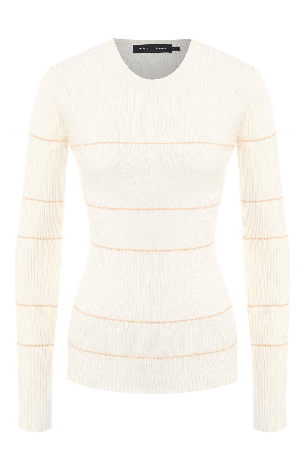 Пуловер из смеси шелка и кашемира   Фото №1