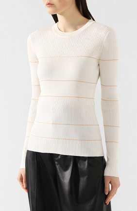 Пуловер из смеси шелка и кашемира   Фото №3