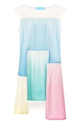 Платье из смеси хлопка и льна | Фото №1