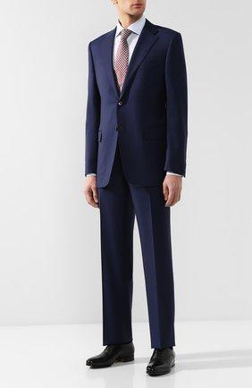 Мужской шерстяной костюм CORNELIANI темно-синего цвета, арт. 827315L8817087/92 Q1   Фото 1