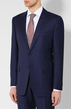 Мужской шерстяной костюм CORNELIANI темно-синего цвета, арт. 827315L8817087/92 Q1   Фото 2