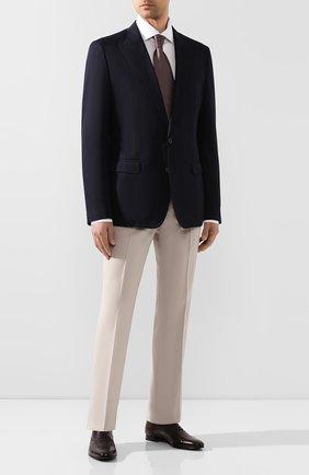 Мужские кожаные оксфорды  BARRETT бордового цвета, арт. 141U002.15/C0RSAR0   Фото 2