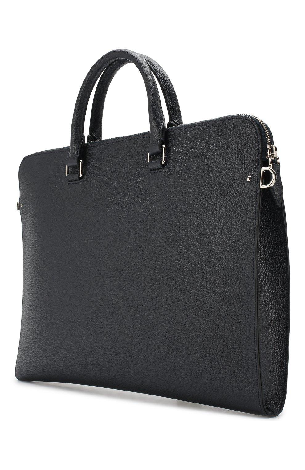 Кожаный портфель | Фото №3