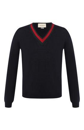 Пуловер из шерсти | Фото №1