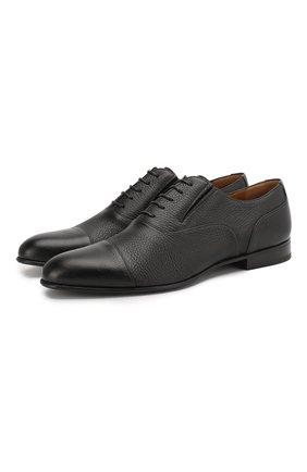 Мужские кожаные оксфорды BARRETT черного цвета, арт. 112U032.11/CERV0 | Фото 1