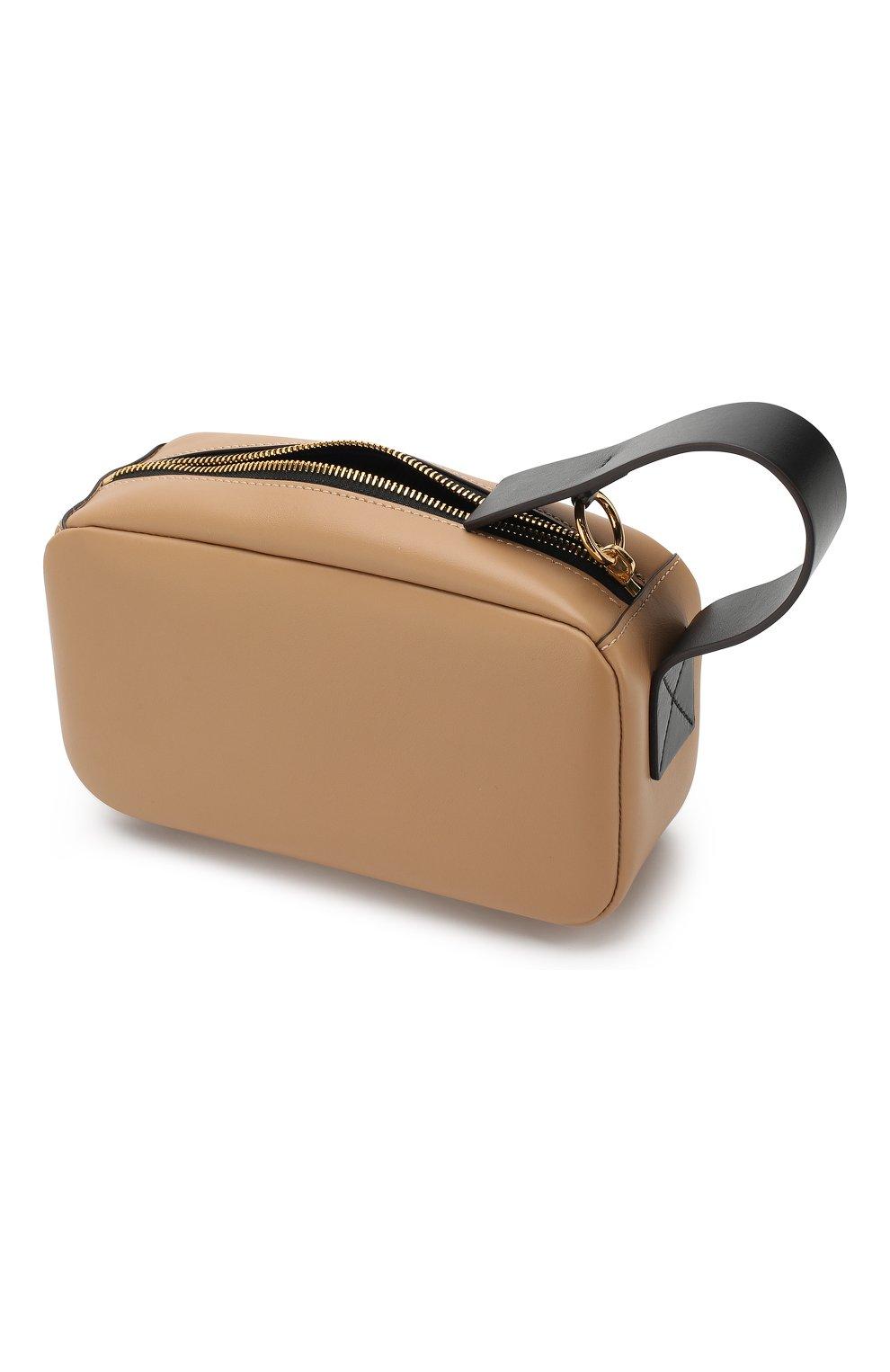 Клатч Law Marni светло-коричневого цвета | Фото №4