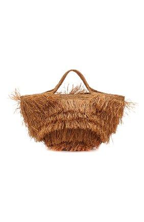Женская сумка aliba large SANS-ARCIDET бежевого цвета, арт. ALIBA BAG S19/L | Фото 1