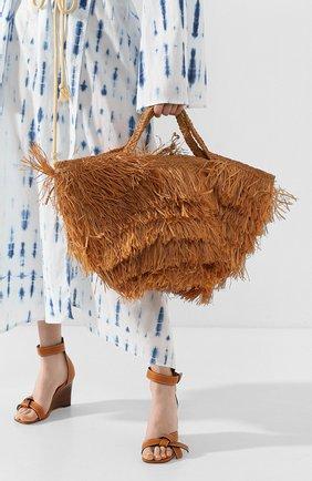Женская сумка aliba large SANS-ARCIDET бежевого цвета, арт. ALIBA BAG S19/L | Фото 2