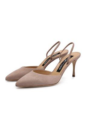 Замшевые туфли Godiva | Фото №1
