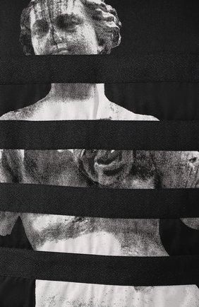 Мужская хлопковый лонгслив DIESEL черного цвета, арт. 00SNRW/0QAUL | Фото 5