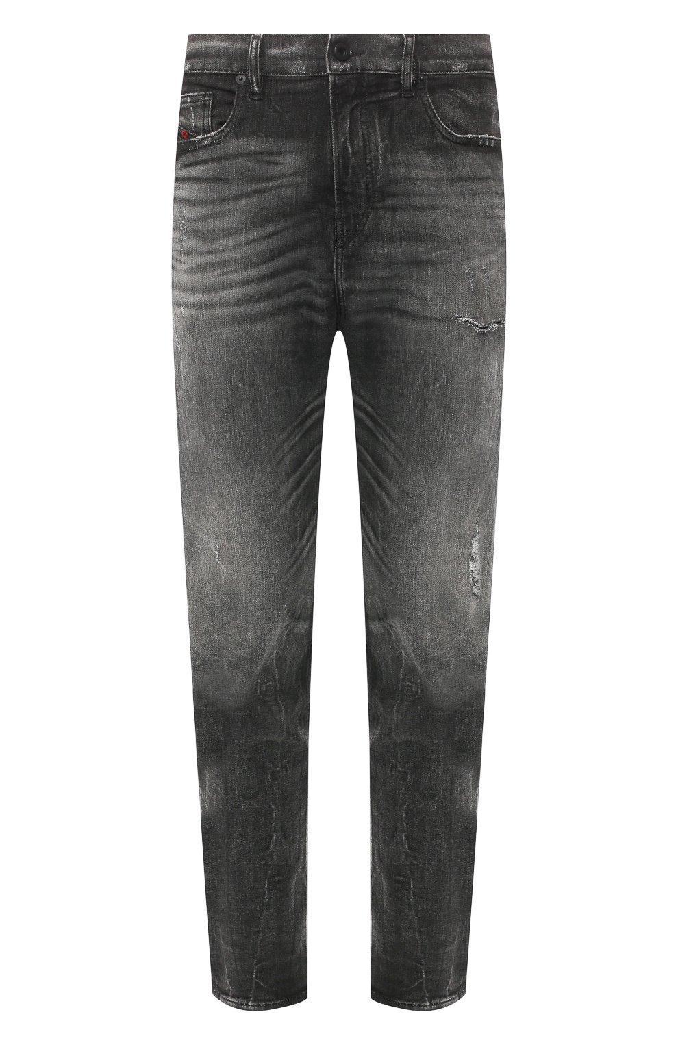Мужские джинсы DIESEL темно-серого цвета, арт. 00STD/0077S   Фото 1