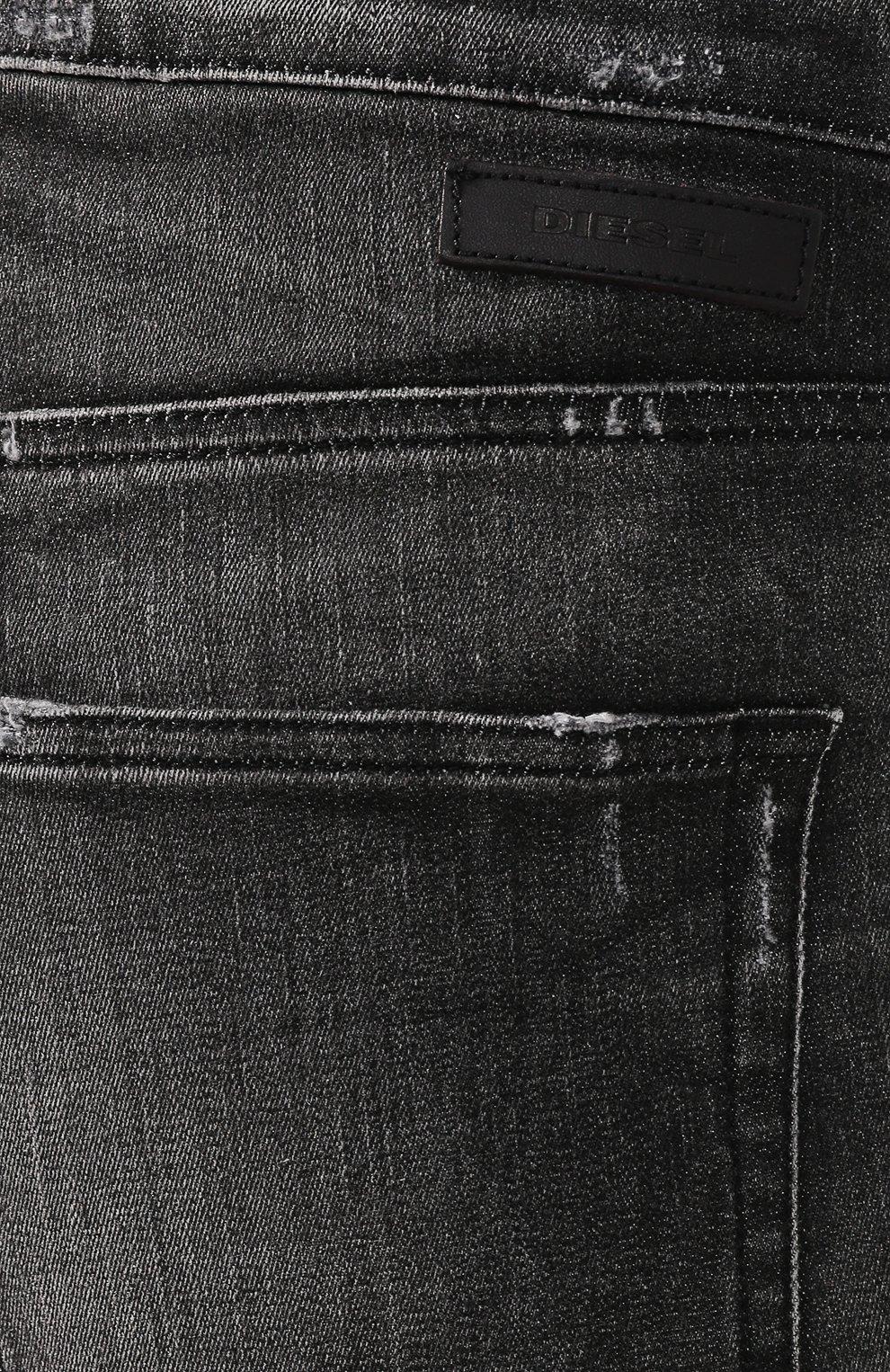 Мужские джинсы DIESEL темно-серого цвета, арт. 00STD/0077S   Фото 5