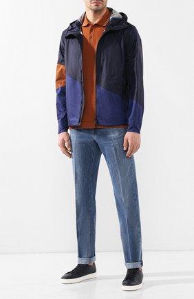 Мужская куртка Z ZEGNA темно-синего цвета, арт. VS032/ZZ085   Фото 2