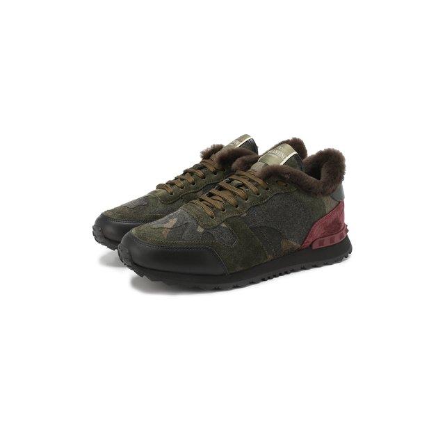 Утепленные кроссовки Valentino Garavani Rockrunner Valentino — Утепленные кроссовки Valentino Garavani Rockrunner