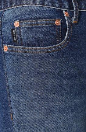 Джинсы-скинни Balenciaga голубые | Фото №5
