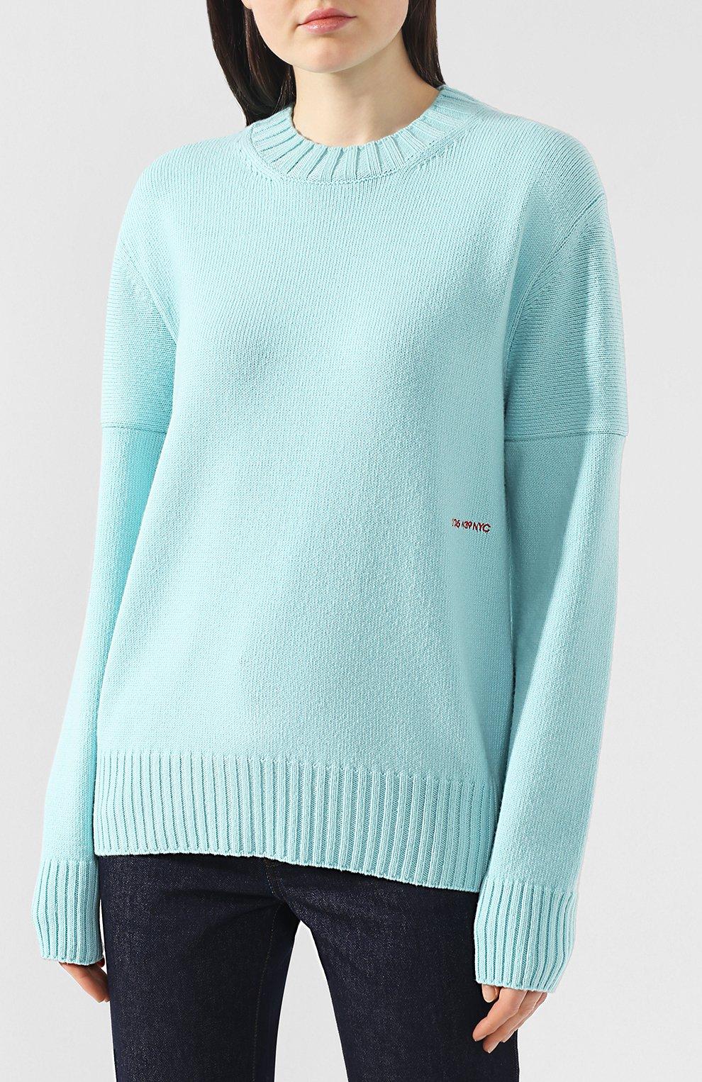 Кашемировый пуловер | Фото №3