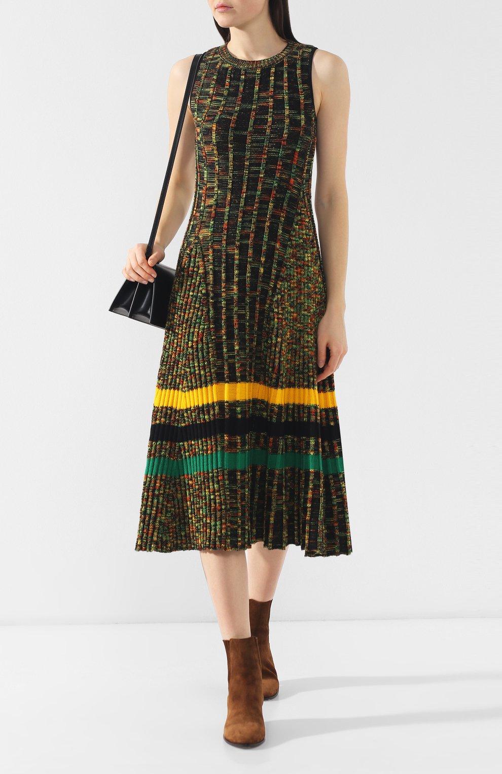 Шерстяное платье | Фото №2