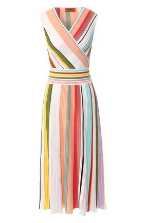 Хлопковое платье Missoni разноцветное | Фото №1