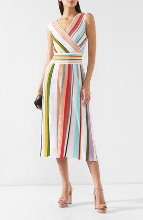 Хлопковое платье Missoni разноцветное | Фото №2