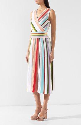 Хлопковое платье Missoni разноцветное | Фото №3