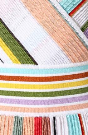 Хлопковое платье Missoni разноцветное | Фото №5
