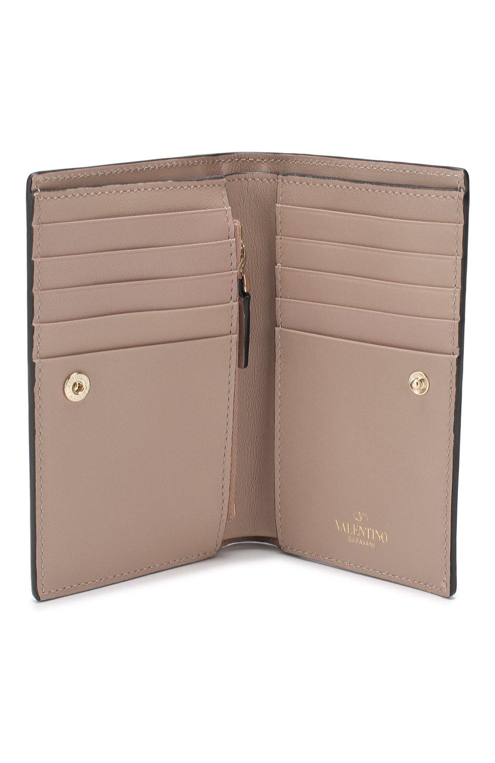 Кожаный кошелек Valentino Garavani Rockstud | Фото №3