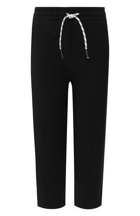 Хлопковые укороченные брюки | Фото №1