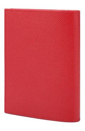Женские кожаная обложка для паспорта DOLCE & GABBANA красного цвета, арт. BI2215/AZ503 | Фото 2